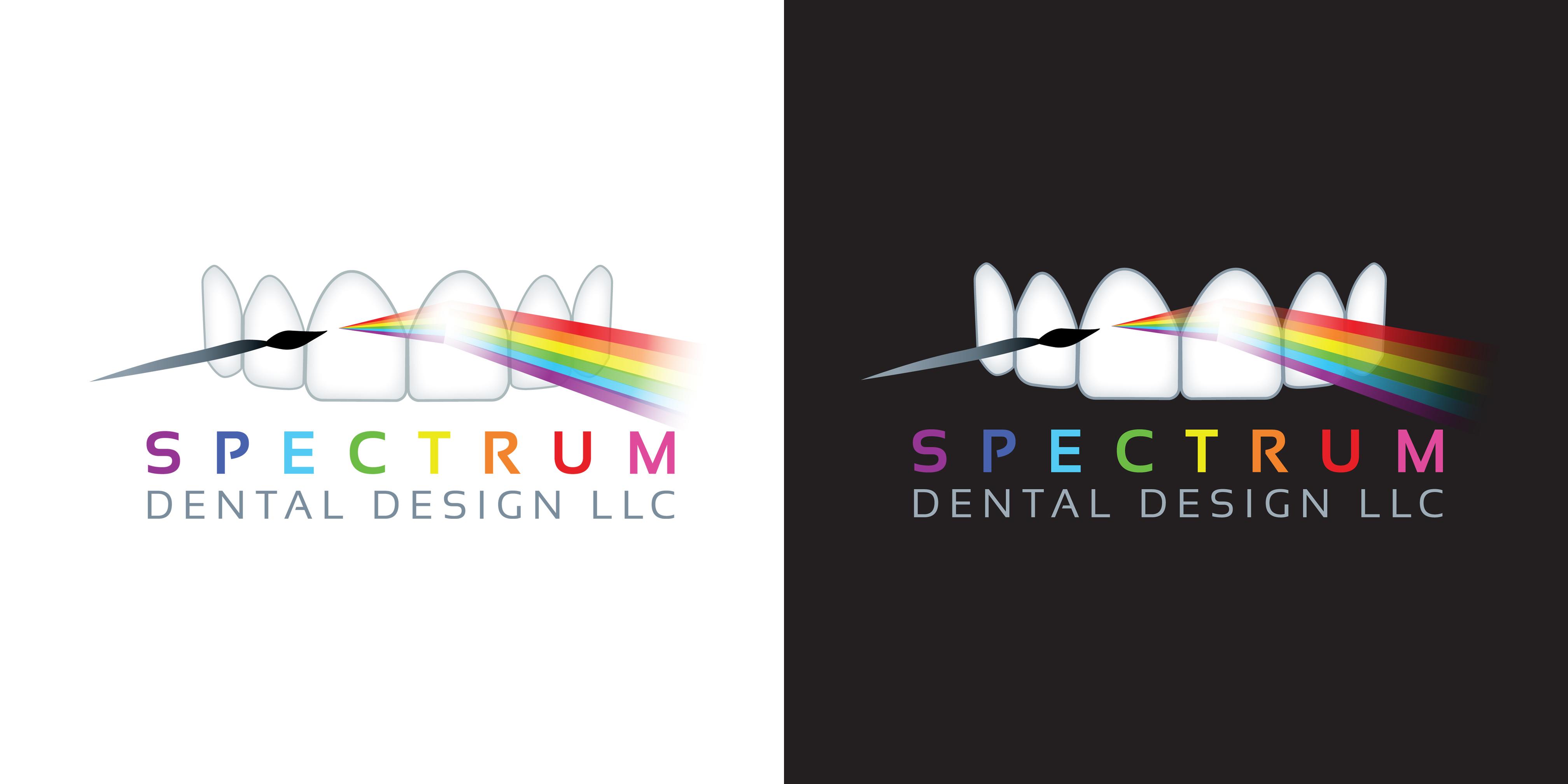 Spectrum Dental Design Lab Logo   Web Design Bellingham   Bob ...