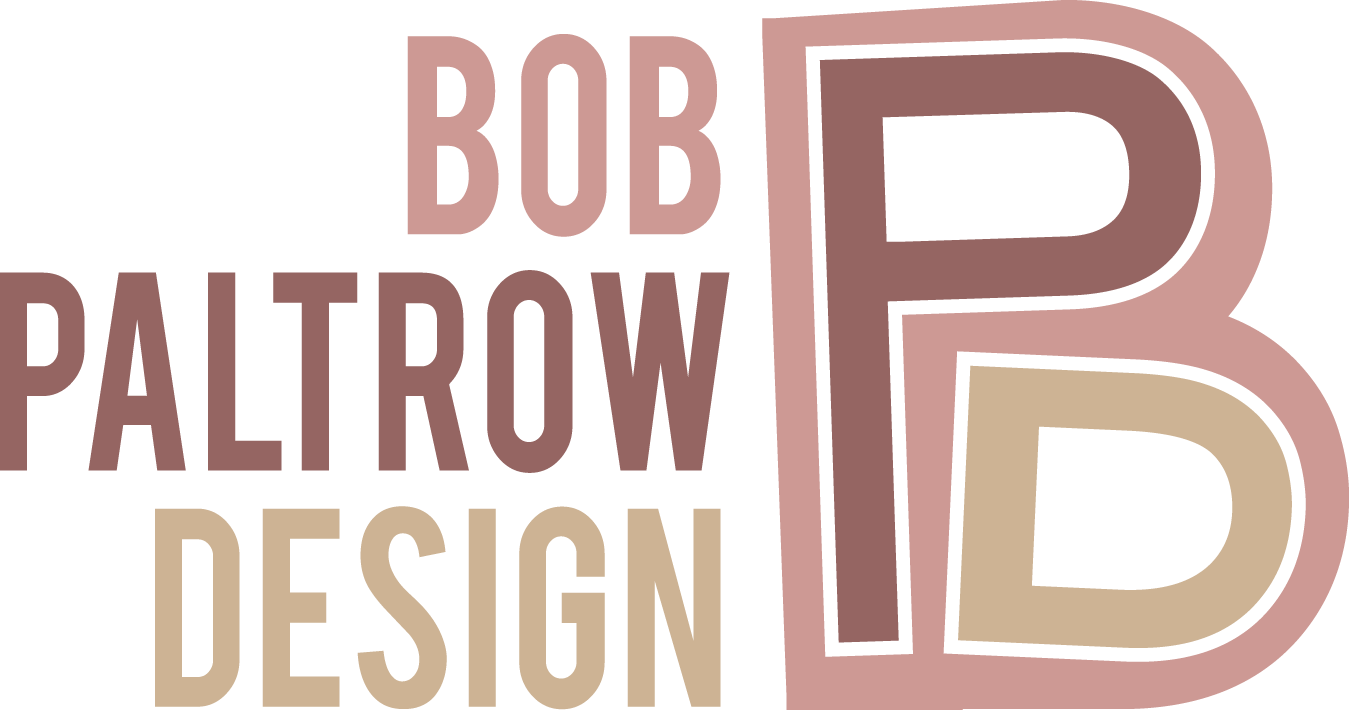 Bob Paltrow Design Logo with Type WEB